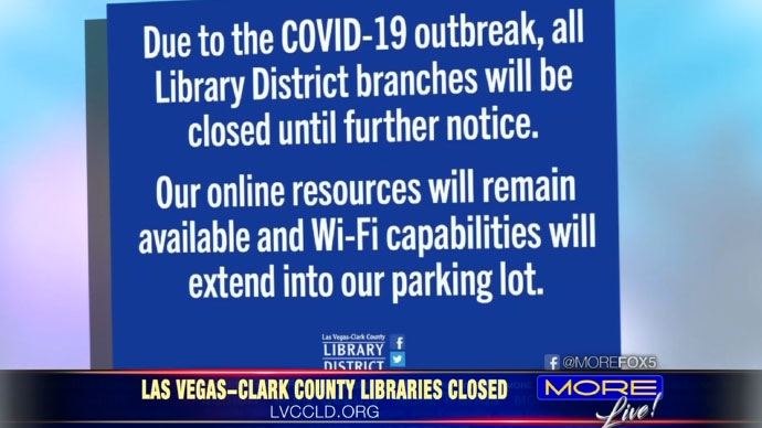 Las Vegas-Clark County Library District Cardholders Can Access Free Online Resources