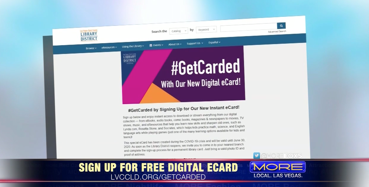 Sign Up For Your Free Digital eCard from the Library District