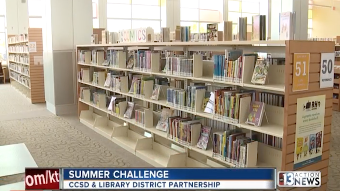 Library District Kicks-Off Summer Challenge in Partnership With CCSD