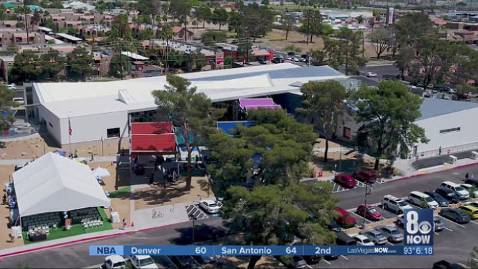 I-Team's reports about dying trees played role in building new east Las Vegas library
