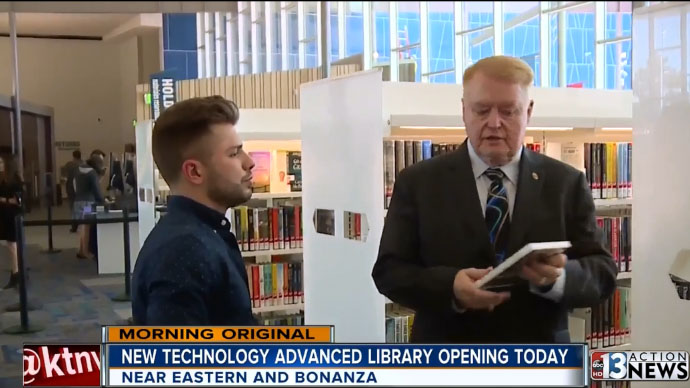 New library opening today on east side of Las Vegas valley