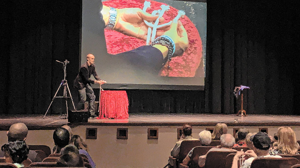 Summerlin-area Magician Puts on Show at Library