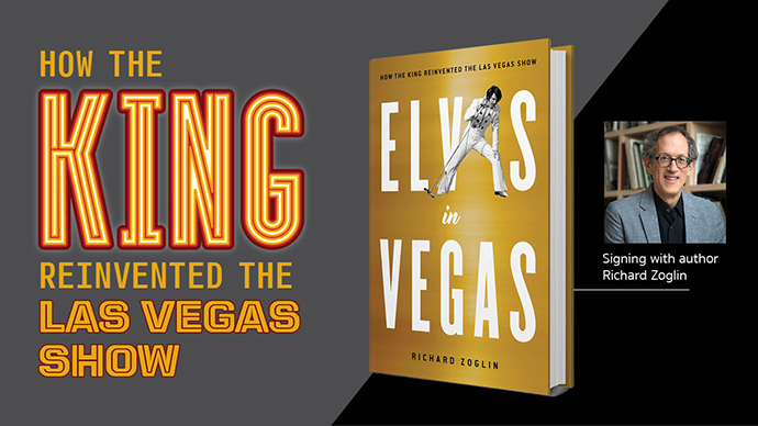 On the 50th Anniversary of his Sin City Comeback, A New Book Explores Elvis' Vegas Reign