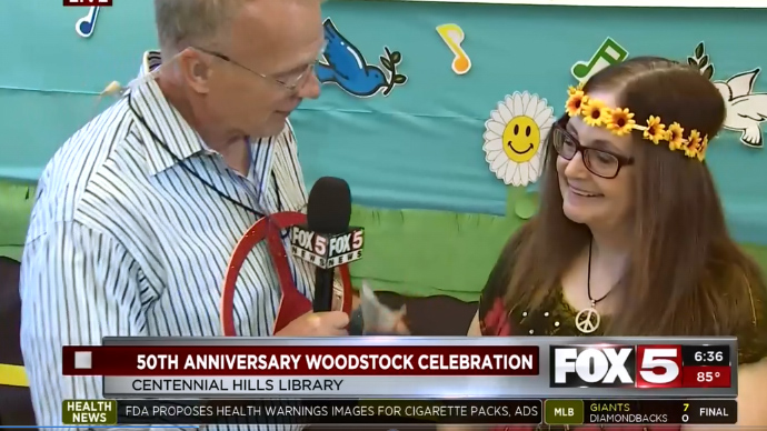 Centennial Hills Library Celebrates the 50th Anniversary of Woodstock