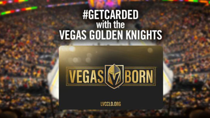 Las Vegas-Clark County Library District And VGK Announce Vegas Born Library Card