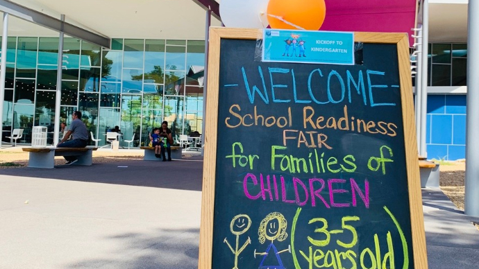 Las Vegas-Clark County Library District hosts 'Kickoff to Kindergarden'