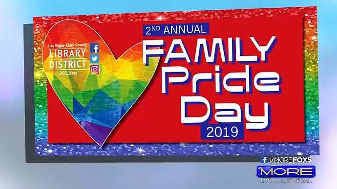 Las Vegas library hosts Family Pride Day