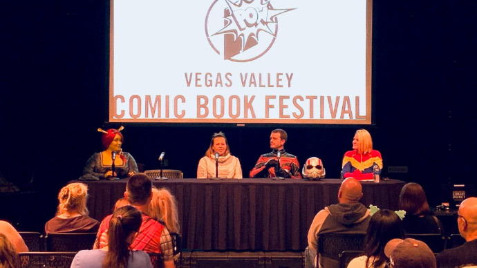 Las Vegas-Clark County Library hosts Comic Book Festival to encourage a love of reading