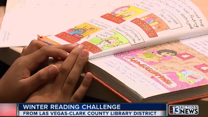 Winter Reading Challenge from Las Vegas-Clark County Library District