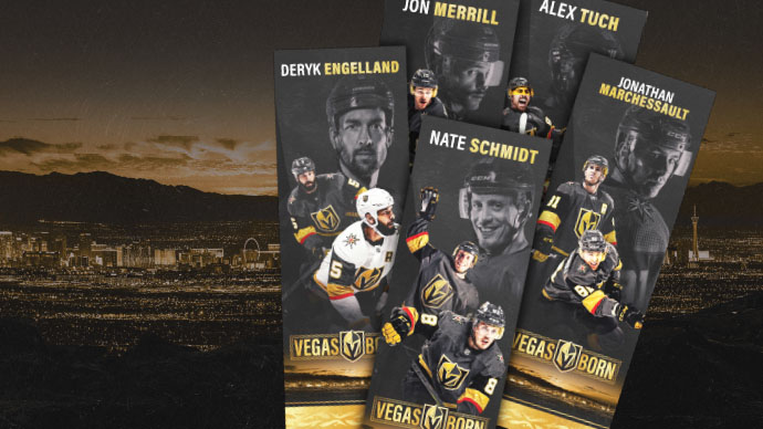 Local Libraries Offering Vegas Golden Knight Bookmarks