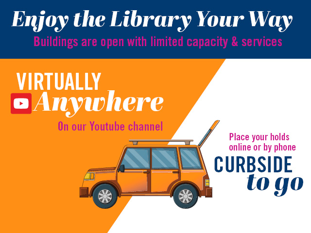 LAS VEGAS-CLARK COUNTY LIBRARY DISTRICT ANNOUNCES PARTIAL REOPENING WITH LIMITED SERVICES BEGINNING JUNE 4