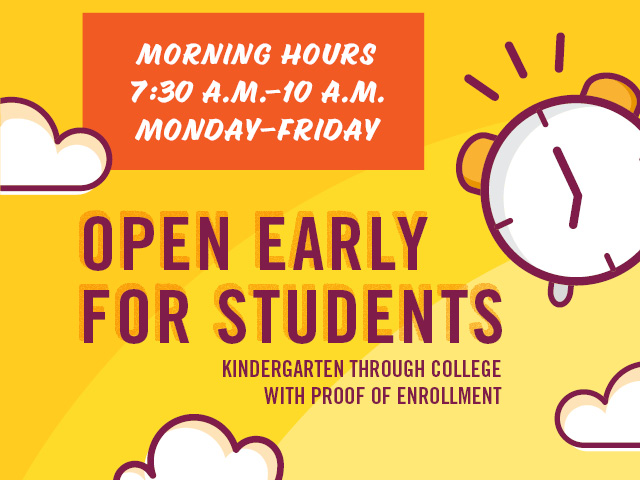 Las Vegas-Clark County Library District Opens Early With Special Student Hours for Kindergarten Through College