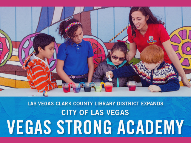 Las Vegas-Clark County Library District Board of Trustees Votes to Expand City of Las Vegas Distance Learning Program to Four Library Branches